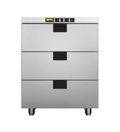 437060013 - 2 koelladen voor elk 2 x GN 1/1, 1 diepvrieslade voor 1 x EN 600 x 400 mm NORDCAP HDCF E