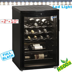 BOT100/B -  Koelvitrine voor wijn, 100 liter Diamond
