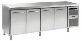 862201845 - Gram GASTRO koelwerkbank 1/1 GN - GASTRO K 2207 CMH AD DL/DL/DL/DR LM - 4 deuren