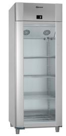 960830341 - Gram ECO TWIN glazendeur koelkast - 2/1 GN - enkeldeurs - Vario Silver