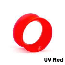 Kaos Silicone Skin Eyelet UV Red