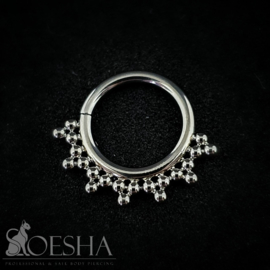 Niobium Beaded Seam Ring