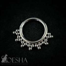 Niobium Seam Ring With Titanium Detail By LeRoi