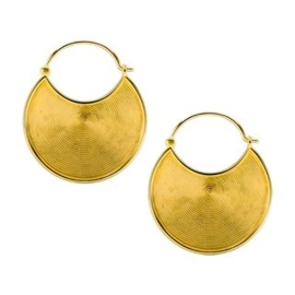 Brass Hoops Spheric