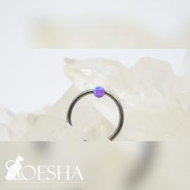 Opal Captive Bead Deep Violet