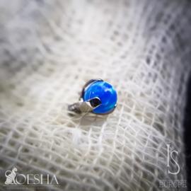 Prong Set Ball Capri Blue