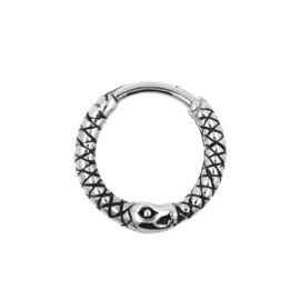Steel Click Ring Snake