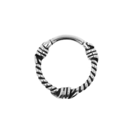 helix click ring barbed wire