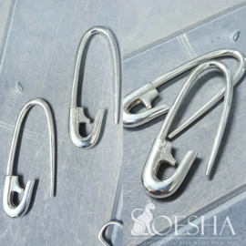 Sterling Silver Safety Pin Weight (pair)