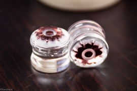 Brindal Flower Plugs (pair)