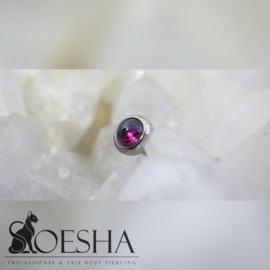 Titanium Threaded End Garnet