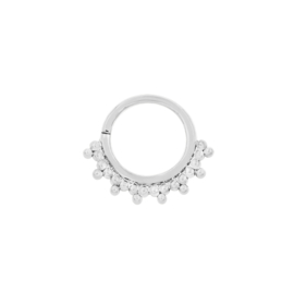 Gold Tri-Bead Seam Ring