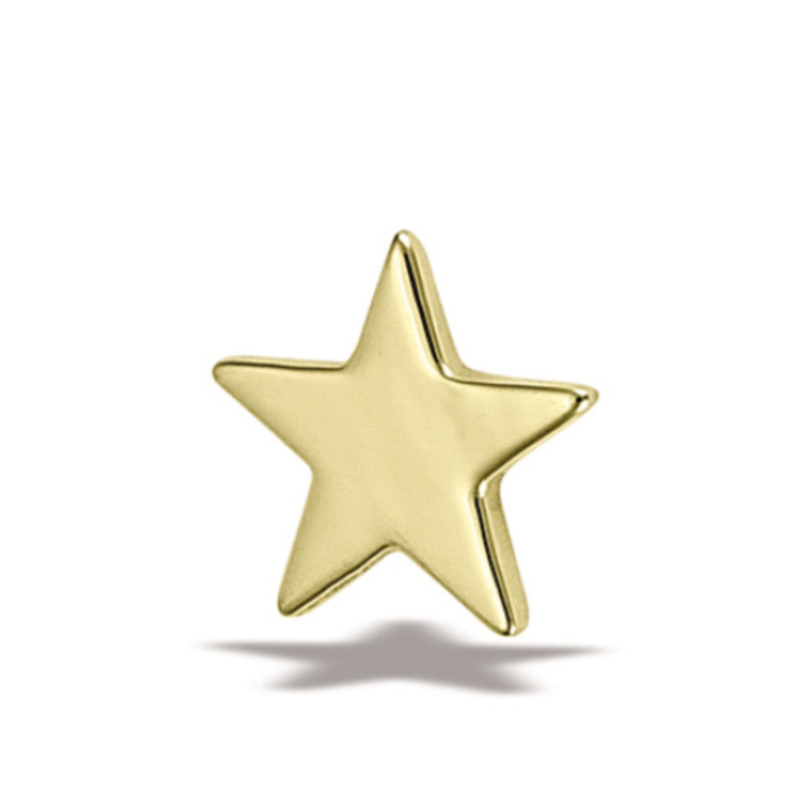 6.5mm genuine gold star