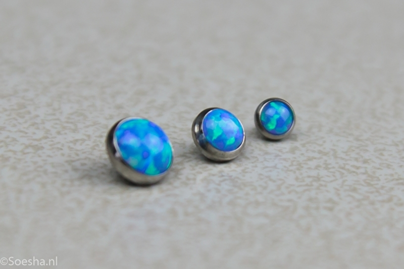 Synthetic Opal Threaded End