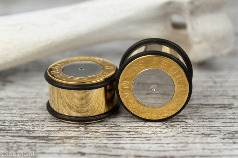 Gold plated Bullet Plug