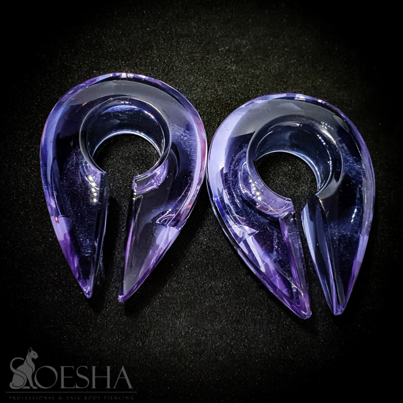 Keyhole Earweights (pair)