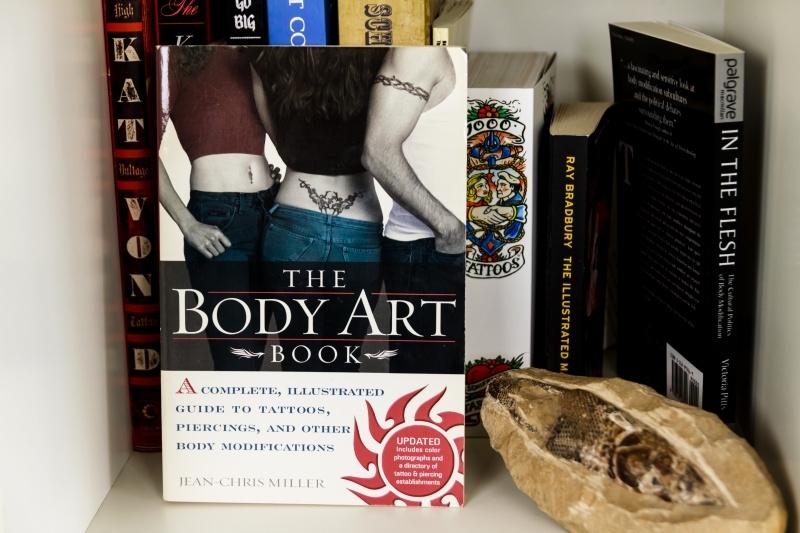 Boek: The Body Art Book