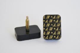 Spijkerhakjes / Stifthakjes 16x22 mm (#612)