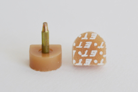 Spijkerhakjes / Stifthakjes 14x14 mm (#608)