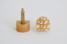 Spijkerhakjes / Stifthakjes 12x12 mm (#607)