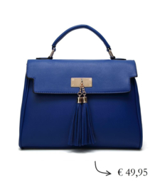 Women's business bag ~ cobalt blue