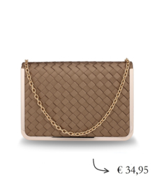Holiday crossbody bag ~ gold