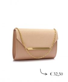 Envelope clutch ~ nude