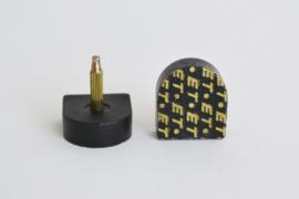Spijkerhakjes / Stifthakjes 16x19 mm (#612A)