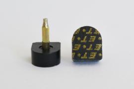 Spijkerhakjes / Stifthakjes 13x15 mm (#609)