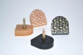 Spijkerhakjes / Stifthakjes 21x22 mm (#614)