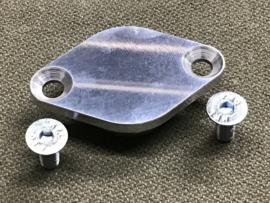 Moto Guzzi Distributor cover, CNC, aluminium, polished - big models