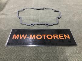 KLEPDEKSELPAKKING GROTE MODELLEN HOEKIG CIL. / Moto Guzzi Valve cover gasket for square cylinder - big models
