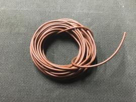 DRAAD 1,5 mm2 BRUIN (per meter)