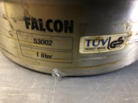 FALCON PLUNJERKAN RVS 1liter 53002 (USED)