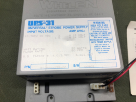 VOEDINGSKAST / VOEDINGSTOESTEL / POWER SUPPLY WHELEN UPS-31 (NEW)