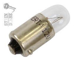 LAMP, GLOEI 12V, 2W (VERDUISTERLAMPEN)