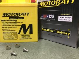 MOTOBATT SLA BATTERY 12V / 19Ah / 250 CCA