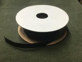 KRIMPKOUS 9,5 mm ZWART (per meter)