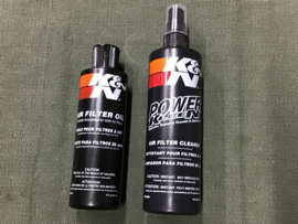 LUCHTFILTER K&N OLIE + REINIGER / Luftfilter K&N Öl+Reiniger