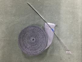UITLAAT TAPE/WRAP GRIJS (10m x 50mm)