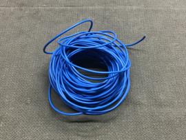 DRAAD 1,5 mm2 BLAUW (per meter)