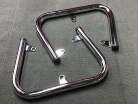 Moto Guzzi Cilinder beschermingskit staal, chroom - kleine modellen