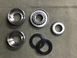 MODIFICATIESET BALHOOFDLAGERS KLEINE MODELLEN / Steering head bearings small models u.+ l. Spezial