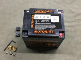 MOTOBATT ACCU SLA 12V / 32 AH / 390 CCA (ZWART)