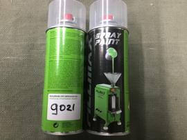 RAL 9021 SPUITBUS 400 ML MAT ZWART DEFENSIE