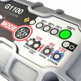 G1100 NOCO GENIUS ACCULADER 6/12v 1,1 Ah