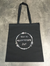 As allertofste juf zwart/multi