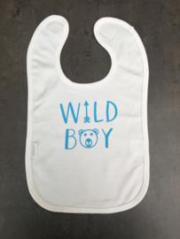 Slab wild boy | wit/lichtblauw