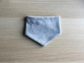 Zever sjaaltje glitter grijs