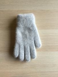 Handschoen Effen grijs